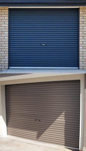 Volet roulant - porte de garage à enroulement