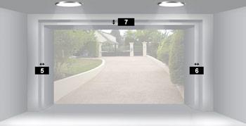 Doors motors fabricant et distributeur de porte de for Porte garage arrondie